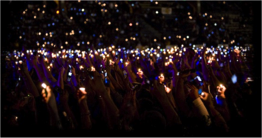 Concerts And Lights On Pinterest